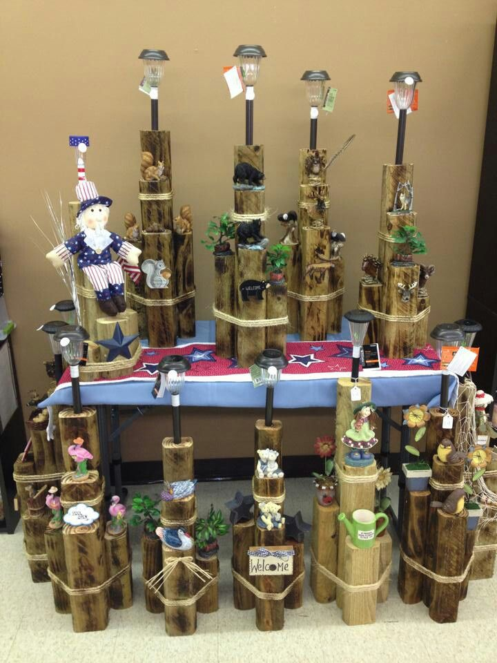 1000 images about fence post ideas on pinterest wood for Solar lights for craft projects