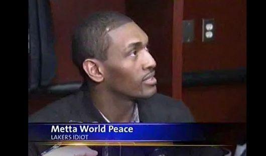 Metta World Peace, Lakers idiot