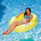 Water Pop Yellow Pool Mesh Lounge