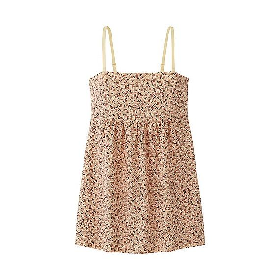 UNIQLO WOMEN TUBE TOP (FLOWER)