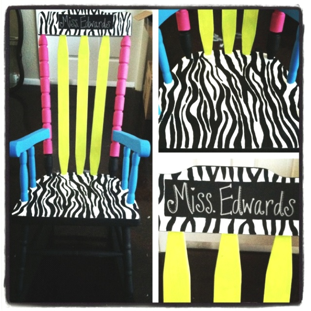 Teacher chair!