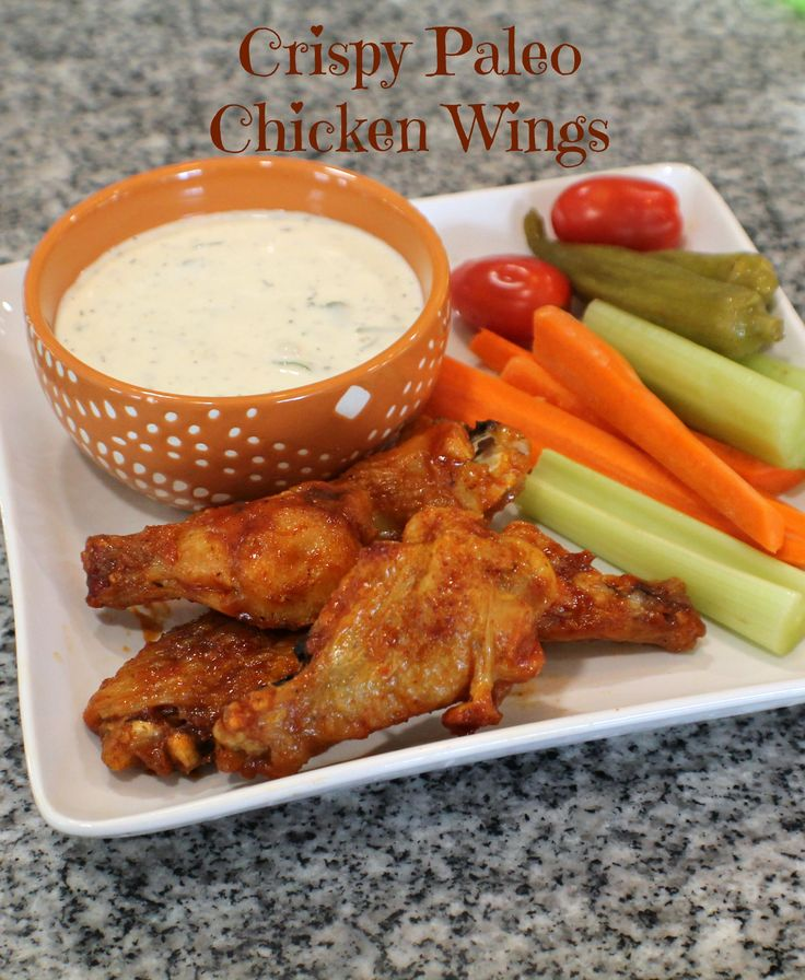 Crispy Paleo Chicken Wings