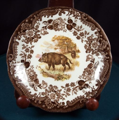 Royal Worcester Palissy Game Series Wild Boar 5 3/4 Inch Saucer | eBay