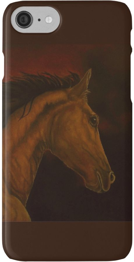 IPhone Case,  brown,cool,beautiful,fancy,unique,trendy,artistic,awesome,fahionable,unusual,accessories,for sale,design,items,products,gifts,presents,ideas,brown,horse,equine,portrait,animal,wildlife,redbubble