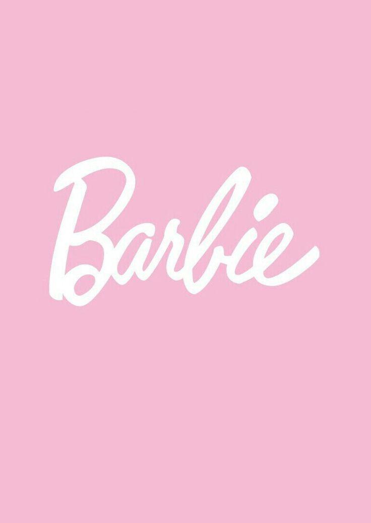 Light pink Barbie wallpaper