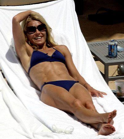 Kelly Ripa is ripped...