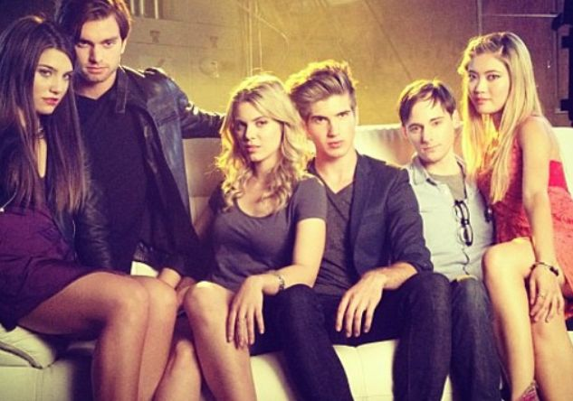 Joey Graceffa and the rest of the Story Tellers cast