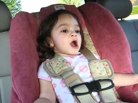 2 year old girl knows all the words!! Absolutely the cutest thing I've seen lately.
