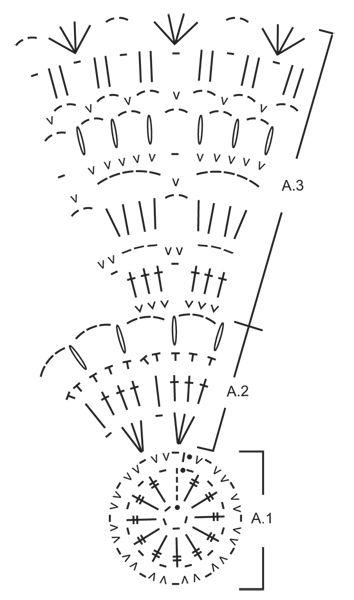 """Color Wheel - Alfombra de ganchillo DROPS con patrón de franjas, en 2 hilos """"Eskimo"""". - Free pattern by DROPS Design"""