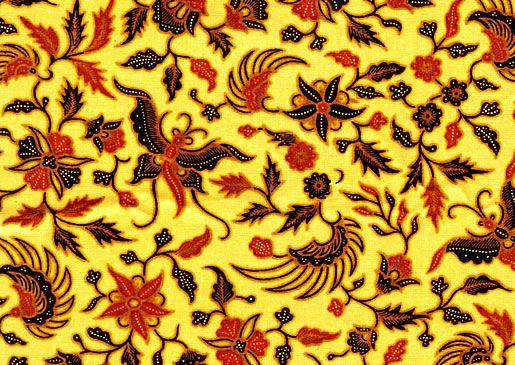 Indonesian Batik Design 01