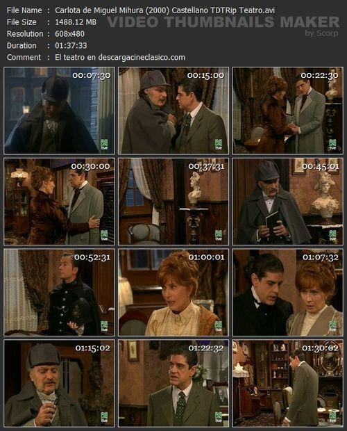 Carlota - Miguel Mihura - Teatro Español - TVE-2 - (2000):