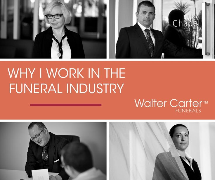 The funeral industry is generally not at the top of the list for most people when they're choosing their career path. For many people, it's a confronting industry - one that's steeped in myths and stereotypes. But the reality is very different. We asked some of the Walter Carter Funerals team why they choose to work in the funeral industry.