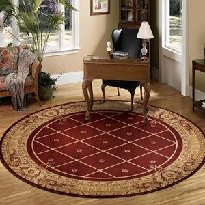 ashton house circular rugs by nourison as03 in black