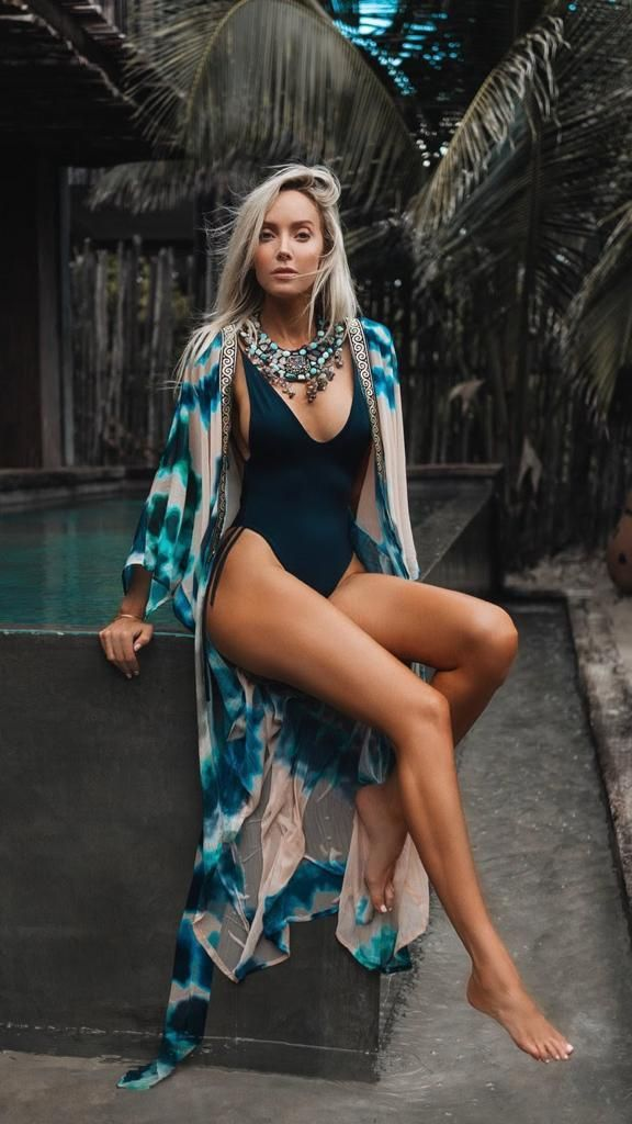 Curve Enhancing Goddess Kimono   Fashion, Style, Beachy outfits