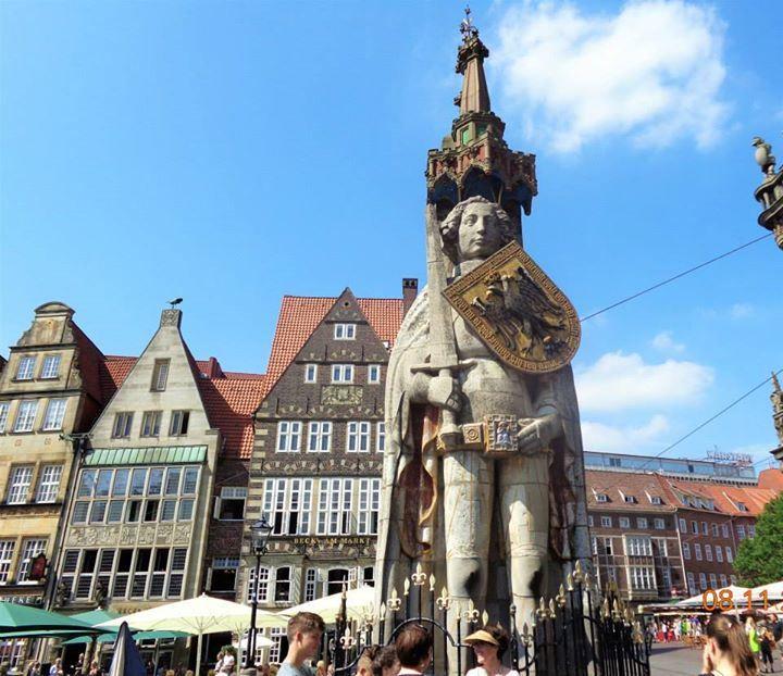 Bremen Roland - #UNESCO #WorldHeritage in Germany #Summer2015
