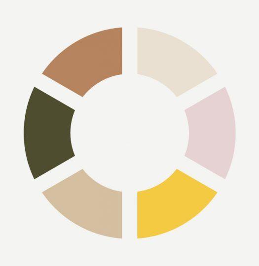 Color Inspiration : zachte kleuren maar met een gele kick - studio OCHER #color #colorinspiration #yellow #pink #natural