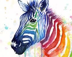 Image result for images zebra paintings