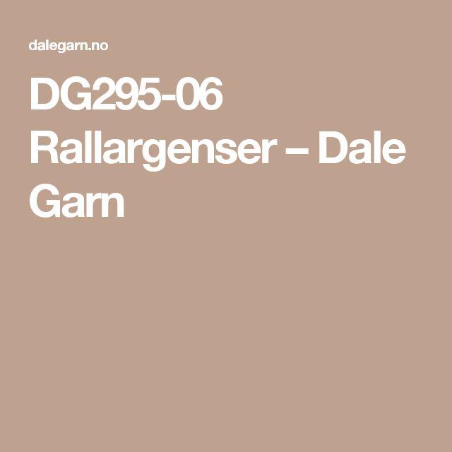 DG295-06 Rallargenser – Dale Garn