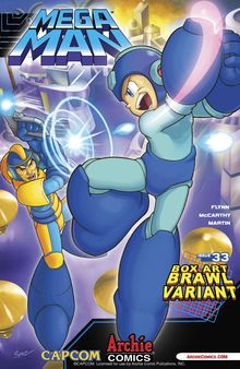 bad box art mega man | Archie Mega Man vs. Bad Box Art Mega Man - Destructoid