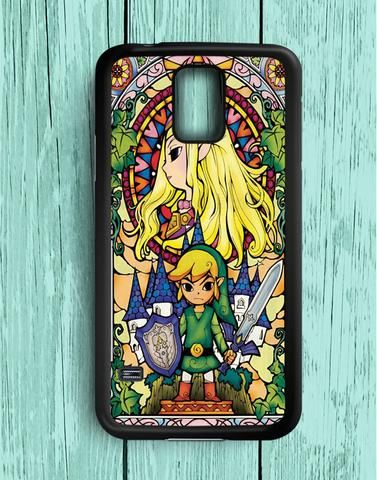Link Triforce The Legend Of Zelda Princess Zelda The Wind Waker Swords Samsung Galaxy S5 Case