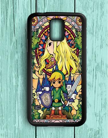 Link Triforce The Legend Of Zelda Princess Zelda The Wind Waker Swords Samsung Galaxy S5 Case