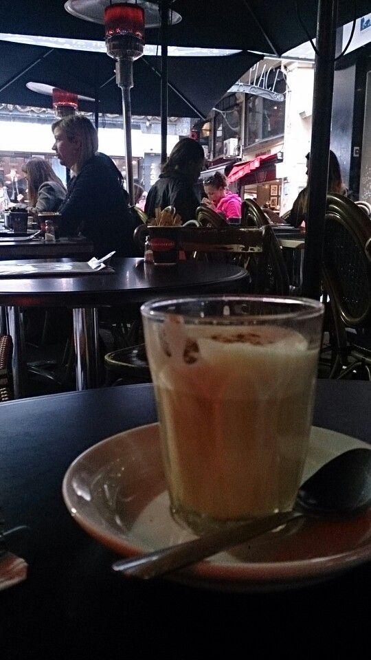 Degraves street Melbourne coffee