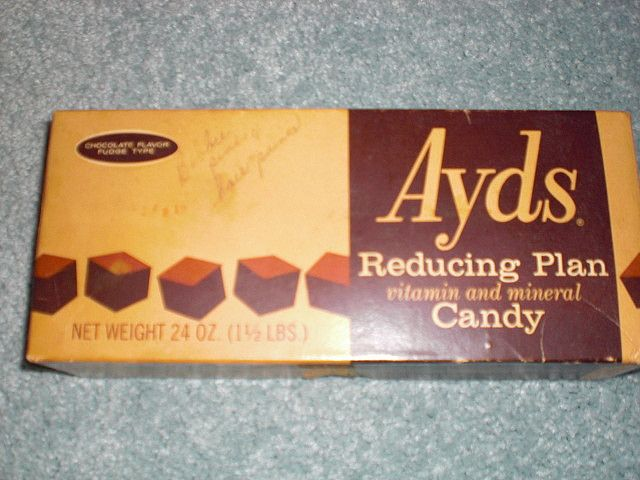 I remember my mother having these and she let me try one, it was just like a square of fudge! Nice..