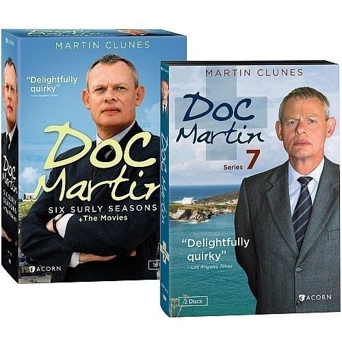 DOC MARTIN Complete Series Seasons 1-7  The Movies 1 2 3 4 5 6 7 DVD NEW