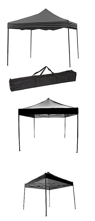 Tent and Canopy Accessories 36120: Trademark Innovations Lightweight And Portable Canopy Tent Set - Black Canopy -> BUY IT NOW ONLY: $131.14 on eBay!