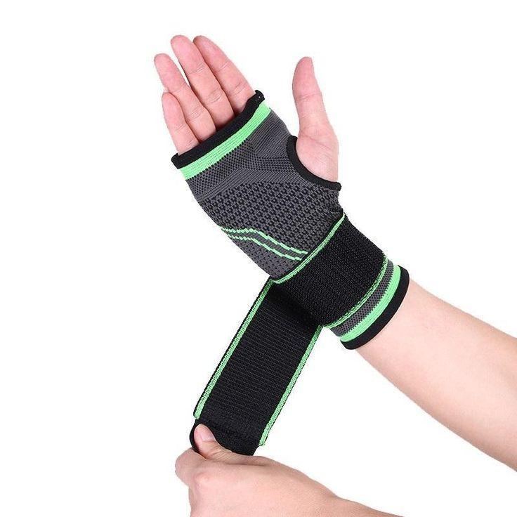 3d sports wrist support glove pad wrist wrap
