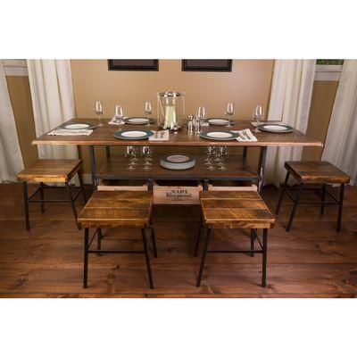 Vino Vintage Farm Table Set