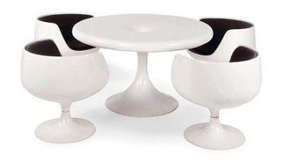 Kantarelli Table by Eero Aarnio