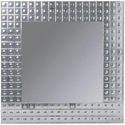 Lustro Bubble 110x110, kare design