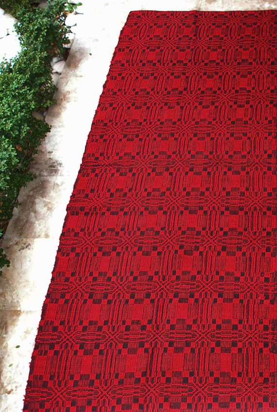 Cottage chic, Rustic home decor, Vintage Anatolian Kilim Rug Runner  by VintageHomeStories on Etsy,