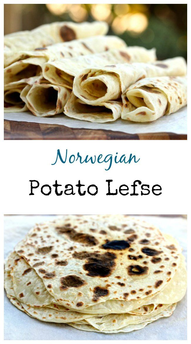 Potato Lefse Norwegian Flatbread Recipe Food Recipes Norwegian Food