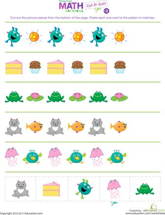 Preschool learning worksheets