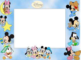 Bebés Disney: Marcos para Fotos para Imprimir Gratis.