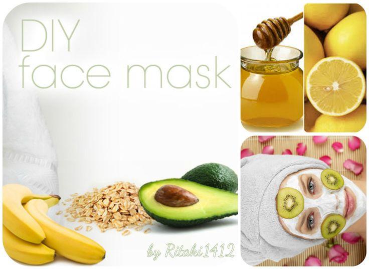 Σπιτικές Μάσκες Προσώπου και Μαλλιών