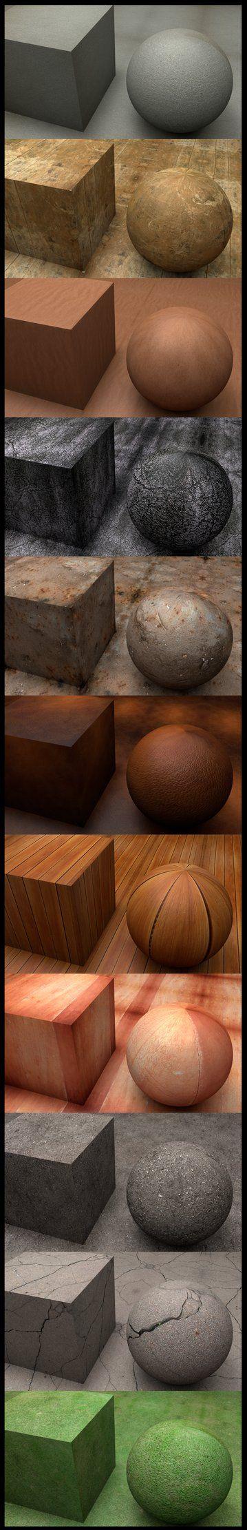 Materials by ~SMOKEYoriginalHD on deviantART