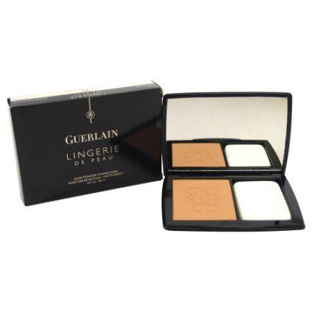 Guerlain Lingerie De Peau Nude Powder Foundation with SPF 20, 05 Dark Beige, 0.35 Oz