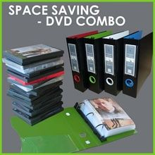 This is a great way to declutter the bookcase of DVD collection