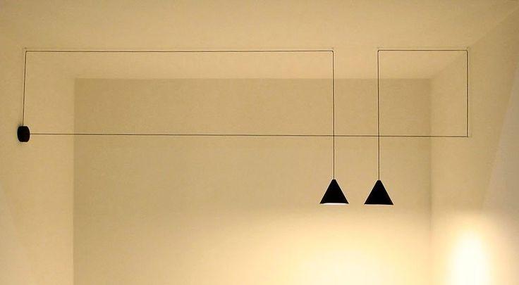 """Hängeleuchte """"String Lights"""" von Flos - Hängeleuchten: Strahlender Mittelpunkt 9 - [SCHÖNER WOHNEN]"""