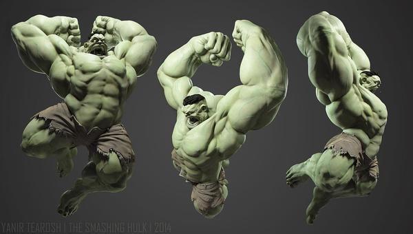 新着イメージ「The Smashing HULK」両腕を振りかざすハルク。CGアーティスト Yanir Tearosh氏 http://t.co/UJ6RdAjqCj の作品 http://t.co/S1BybHt2nQ http://t.co/IuO6VgnLw3