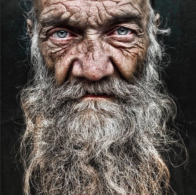 Portraits of homeless people by Lee Jeffries                                                                                                                                                                                 More