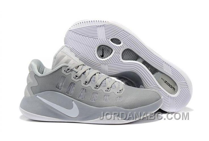 http://www.jordanabc.com/nike-hyperdunk-low-2016-grey-white-men-basketball-shoes-on-sale.html NIKE HYPERDUNK LOW 2016 GREY WHITE MEN BASKETBALL SHOES ON SALE Only $91.00 , Free Shipping!