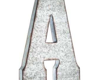 Large Hollow Metal Letters Extraordinary Best 25 Large Metal Letters Ideas On Pinterest  Metal Letters 2017