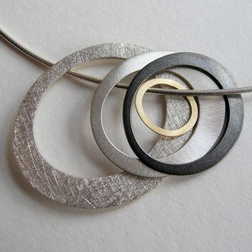 Pools Necklace | Contemporary Necklaces / Pendants by contemporary jewellery designer Dot Sim Más