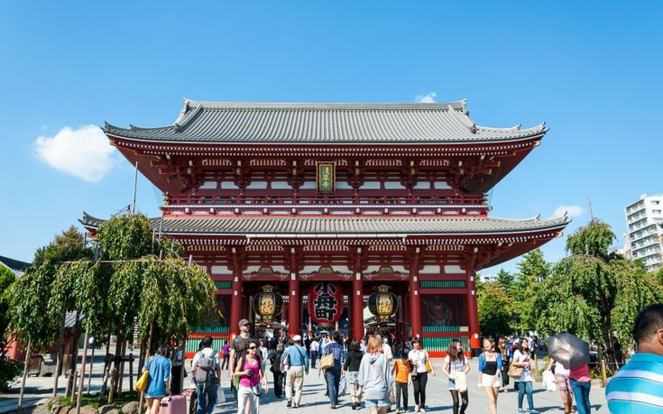 No. 7 (tie) Sensoji Temple, Tokyo - World's Most-Visited Tourist Attractions | Travel + Leisure