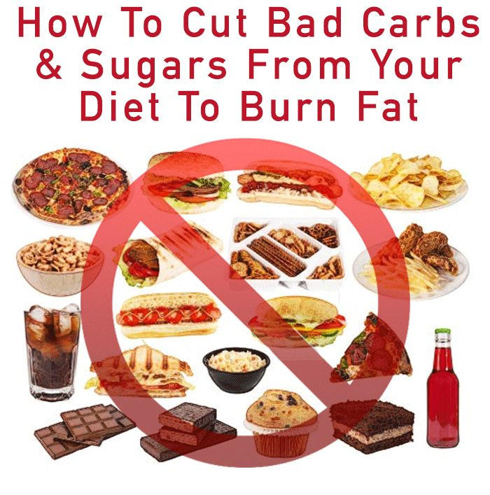 how to stop eating bad carbs