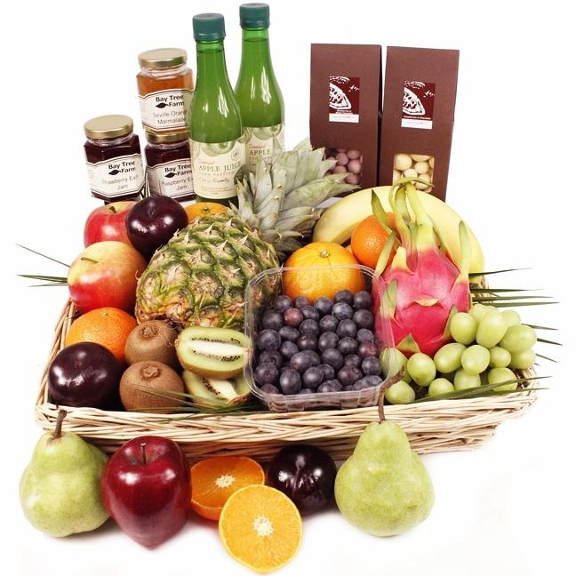 Corfu Luxury Fruit Hamper